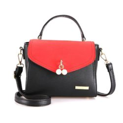 BTH96198-red Tas Selempang Colourful Fashion Import