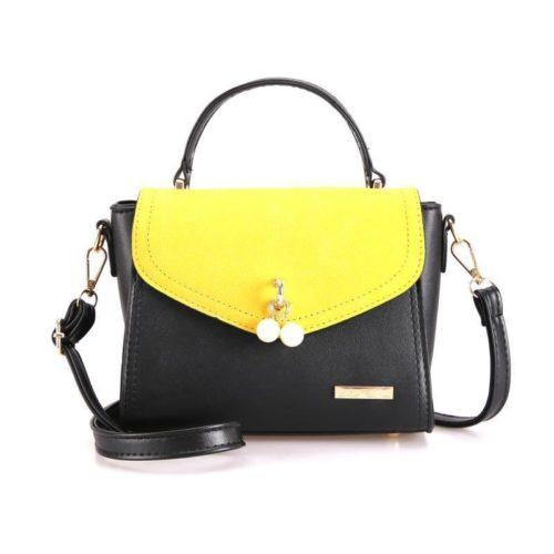 BTH96198-yellow Tas Selempang Colourful Fashion Import