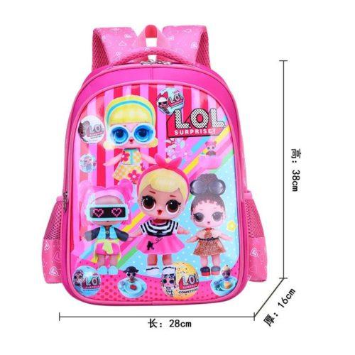 BTH999-lol Tas Sekolah Anak Karakter Lucu Terbaru