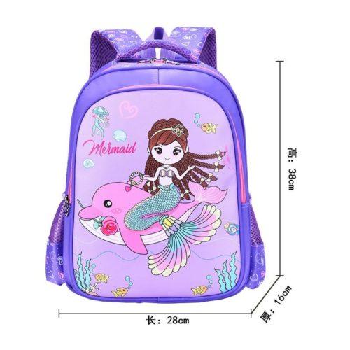 BTH999-mermaid Tas Sekolah Anak Karakter Lucu Terbaru