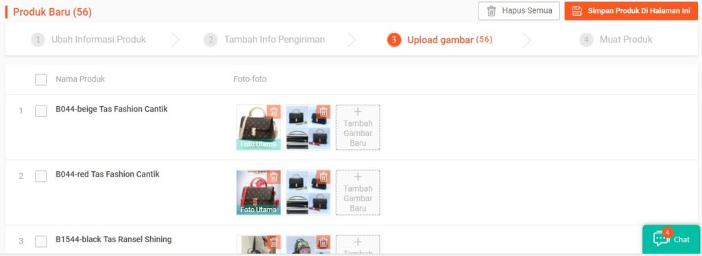 Cara Shopee Mass Update Produk Shopee Step 8 - Gambr Produk