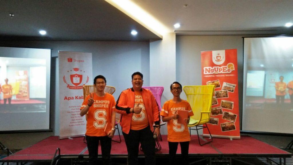 Event Shopee - GrosirImpor.co ( Tengah ) diundang menjadi salah satu pembicara untuk Event Shopee di Batam