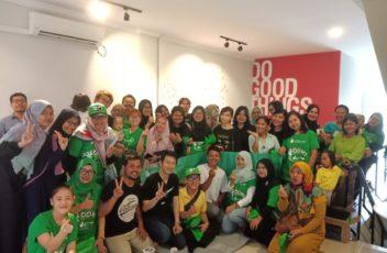 Foto Bersama di event Tokopedia dan GrosirImpor.com