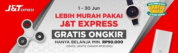Gratis Free Ongkir J&T Express di Shopee