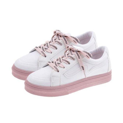 JSF3055-white Sepatu Sneaker Import Wanita Cantik Terbaru