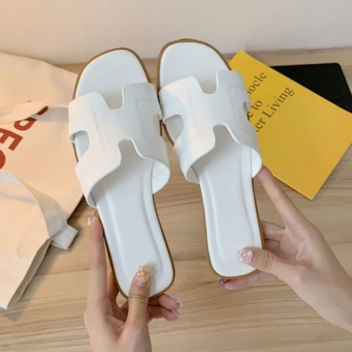 JSF553-white Sandal Fashion Wanita Cantik Import Terbaru