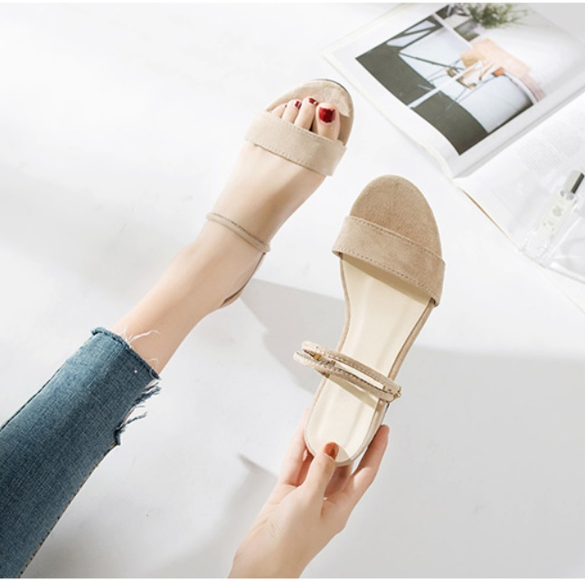JSF911 IDR.144.000 MATERIAL BLUDRU COLOR KHAKI WEIGHT 500GR SIZE 35,36,37,38,39,40