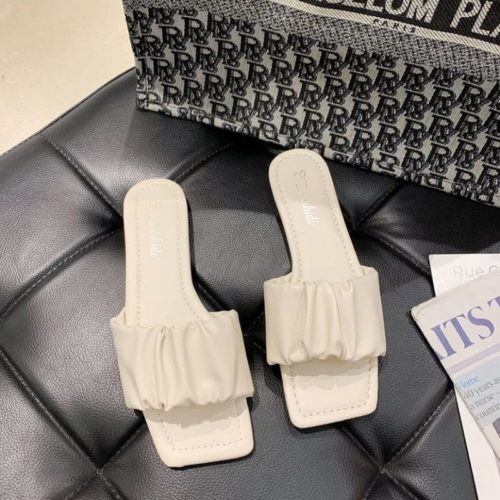 JSFA65-beige Sandal Wanita Fashion Import Terbaru
