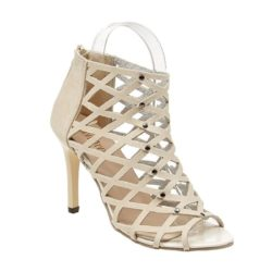 JSH009-beige Sepatu High Heels Wanita Elegan Import 9.5CM