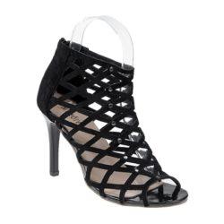 JSH009-black Sepatu High Heels Wanita Elegan Import 9.5CM
