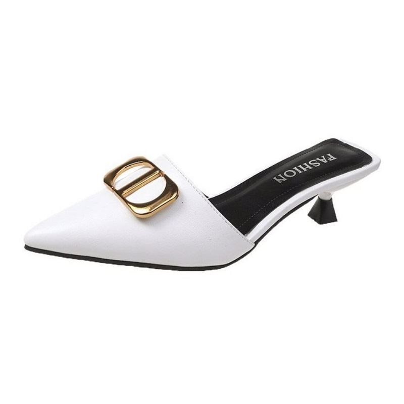 JSH0488 IDR.183.000 MATERIAL PU HEEL 5 CM COLOR WHITE WEIGHT 700GR SIZE 36,37,38,39
