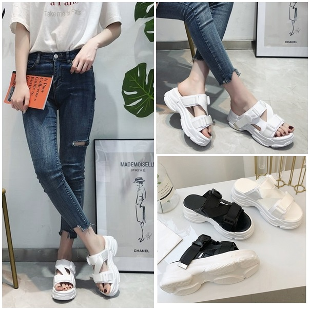 JSH1905 IDR.160.000 MATERIAL PU HEEL 5CM COLOR WHITE WEIGHT 650GR SIZE 35,36
