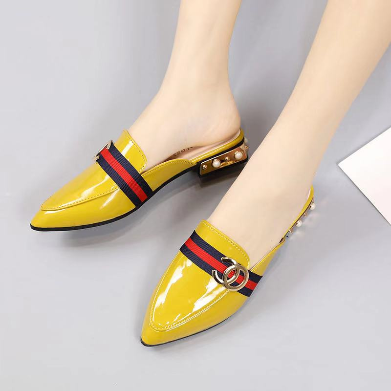 JSH9712 IDR.168.000 MATERIAL PU COLOR YELLOW WEIGHT 700GR SIZE 35,36,37,38,39,40
