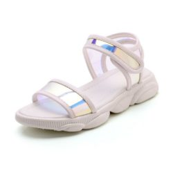 JSK1866-white Sandal Gunung Anak Imut Keren Import