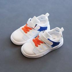 JSK1906-blue Sepatu Sneakers Fashion Anak Keren Import