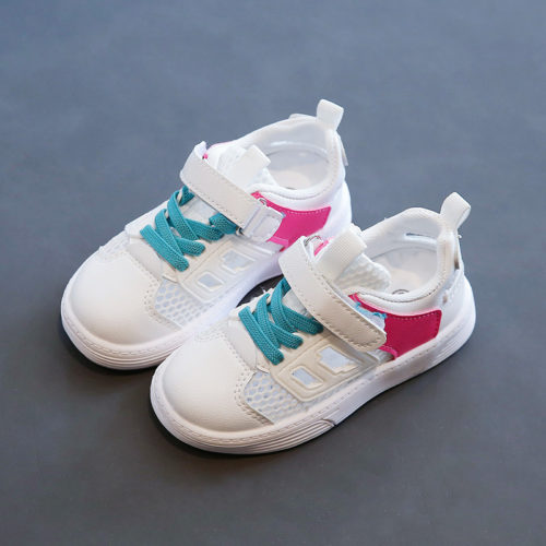 JSK1906-pink Sepatu Sneakers Fashion Anak Keren Import
