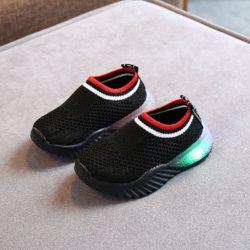 JSK2002-black Sepatu Sneakers Anak Comfy Import Terbaru