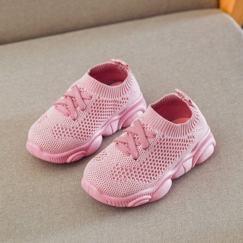 JSK278-pink Sepatu Sneakers Anak Imut Import Terbaru