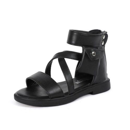 JSK2901-black Sandal Gunung Anak Keren Import