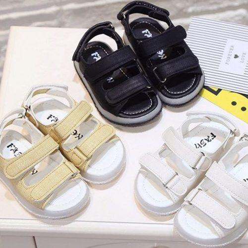 JSK701-black Sandal Gunung Fashion Anak Import Terbaru