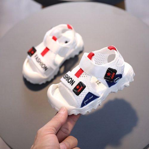 JSKB2-white Sandal Anak Imut Lucu Import Terbaru