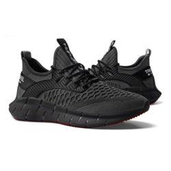 JSS003-black Sepatu Sneakers Pria Keren Import Terbaru