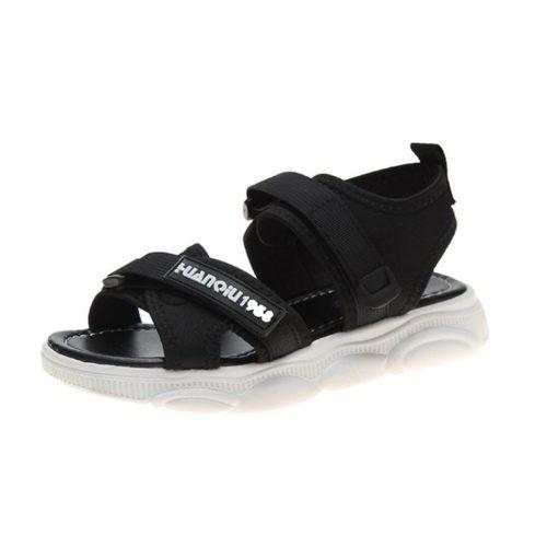 JSS009-black Sandal Gunung Wanita Cantik Terbaru Import
