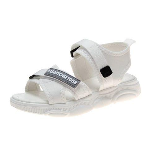 JSS009-white Sandal Gunung Wanita Cantik Terbaru Import