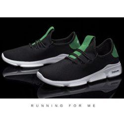 JSS1102-green Sepatu Running Pria Sporty Import