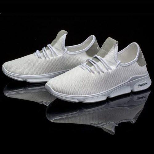 JSS1102-white Sepatu Running Pria Sporty Import