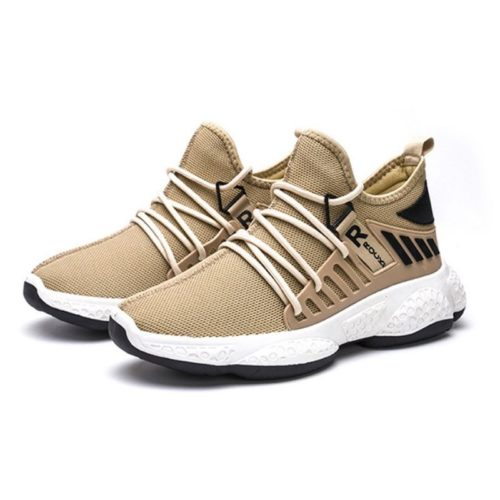 JSS192-khaki Sepatu Sneakers Sport Pria Modis Keren