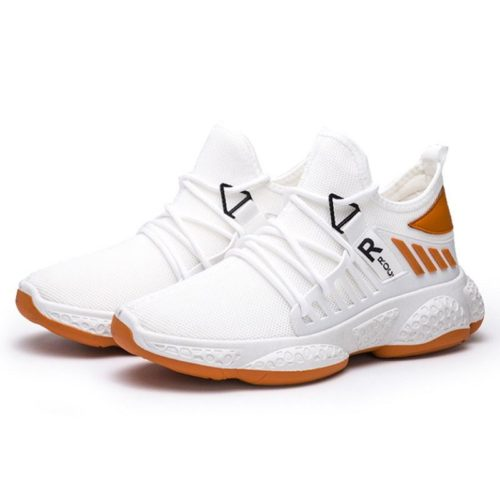 JSS192-white Sepatu Sneakers Sport Pria Modis Keren