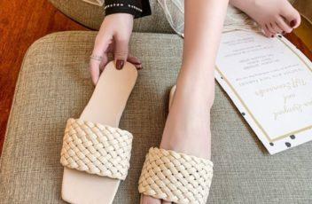 JSS2020-beige Sandal Comfy Wanita Cantik Import Terbaru