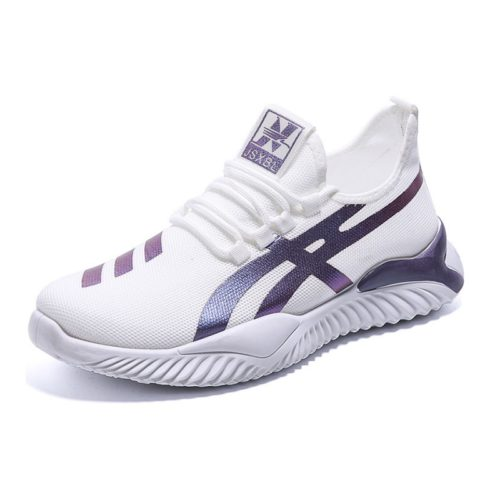 JSS2031-white Sepatu Sneakers Import Pria Modis Terbaru