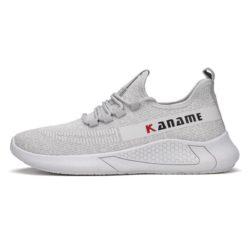 JSS215-graywhite Sepatu Sneakers Fashion Pria Terbaru Import