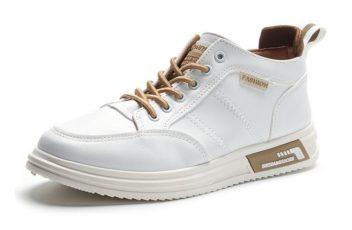 JSS2177-khaki Sepatu Sneakers Pria Modis Import Terbaru
