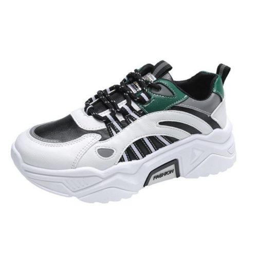 JSS230-black Sepatu Sneakers Sport Wanita Cantik Import