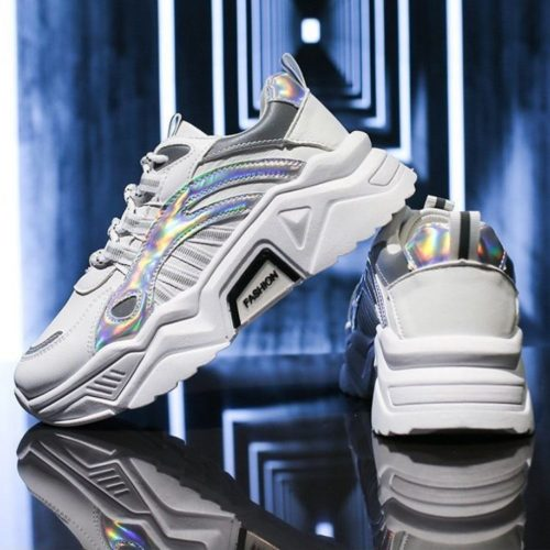 JSS230-white Sepatu Sneakers Sport Wanita Cantik Import