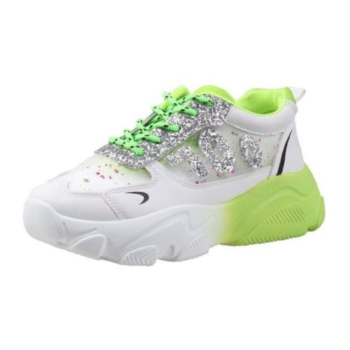 JSS3070-green Sepatu Sneaker Wanita Cantik Terbaru Import