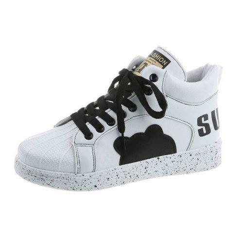 JSS3221-black Sepatu Sneakers Flat Fashion Wanita Cantik Terbaru