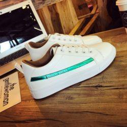 JSS333-green Sepatu Sneakers Wanita Cantik Import