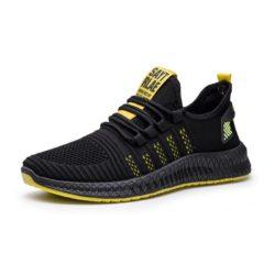 JSS345-yellow Sepatu Sneakers Pria Modis Import Terbaru