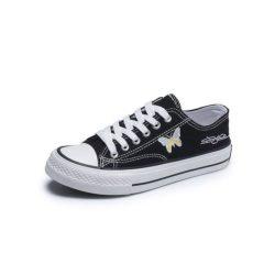 JSS3936-black Sepatu Sneakers Flat Wanita Cantik Import