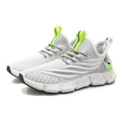 JSS57-gray Sepatu Sneakers Olah Raga Pria Modis Terbaru