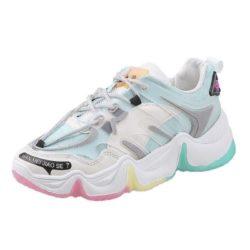 JSS5988-blue Sepatu Sneakrs Wanita Cantik Import Terbaru