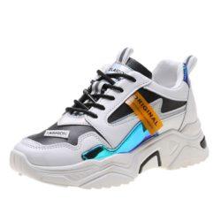 JSS6061-black Sepatu Sneakers Wanita Cantik Terbaru Import
