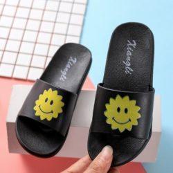 JSS6156-sunblack Sandal Flip Flop Anak Terbaru Import