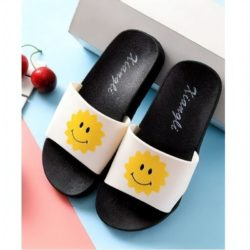 JSS6156-sunwhite Sandal Flip Flop Anak Terbaru Import