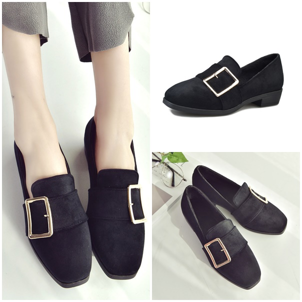JSS668 IDR 160.000 MATERIAL SUEDE COLOR BLACK WEIGHT 650GR SIZE 35