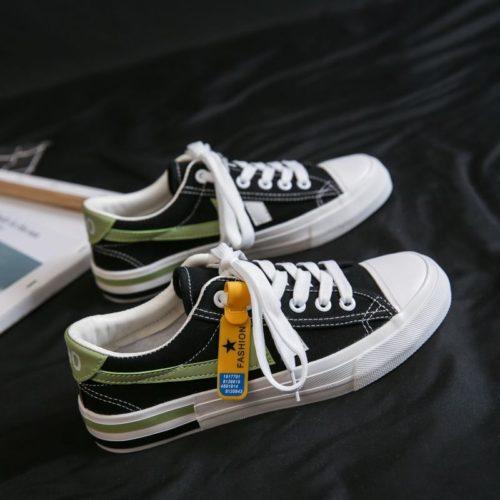 JSS7104-black Sepatu Sneakers Wanita Keren Import Terbaru